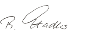 Rupert Stadler (handwriting)